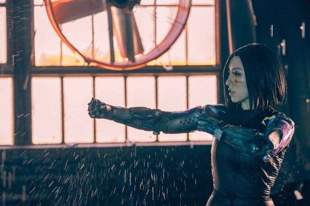 Алита — косплей Боевого Ангела