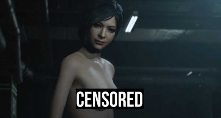 Resident Evil 2 Remake - nude-мод для Ады Вонг