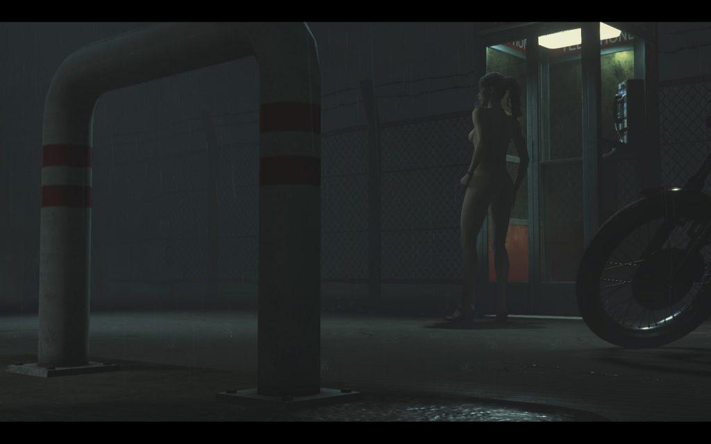 Мод для Resident Evil 2 Remake, полностью оголяющий Клэр Рэдфилд