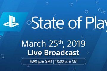 Sony проведёт презентацию на канале State of Play