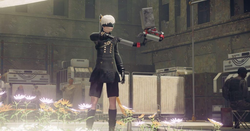 9S Player Model Replacement