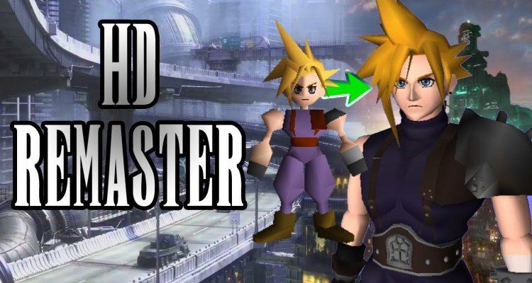 Бета-мод для Final Fantasy VII, содержащий HD текстуры, улучшенные нейросетью, доступен для скачивания