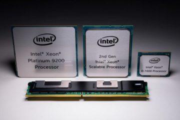 Intel представила процессор Xeon Platinum с 56 ядрами