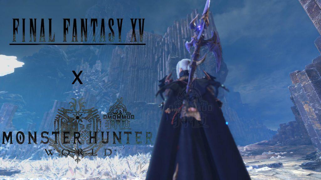 Мод перенес наемницу Аранею из Final Fantasy XV в Monster Hunter World