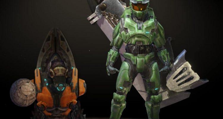 Теперь вы можете играть за Мастера Чифа из серии Halo в Monster Hunter World