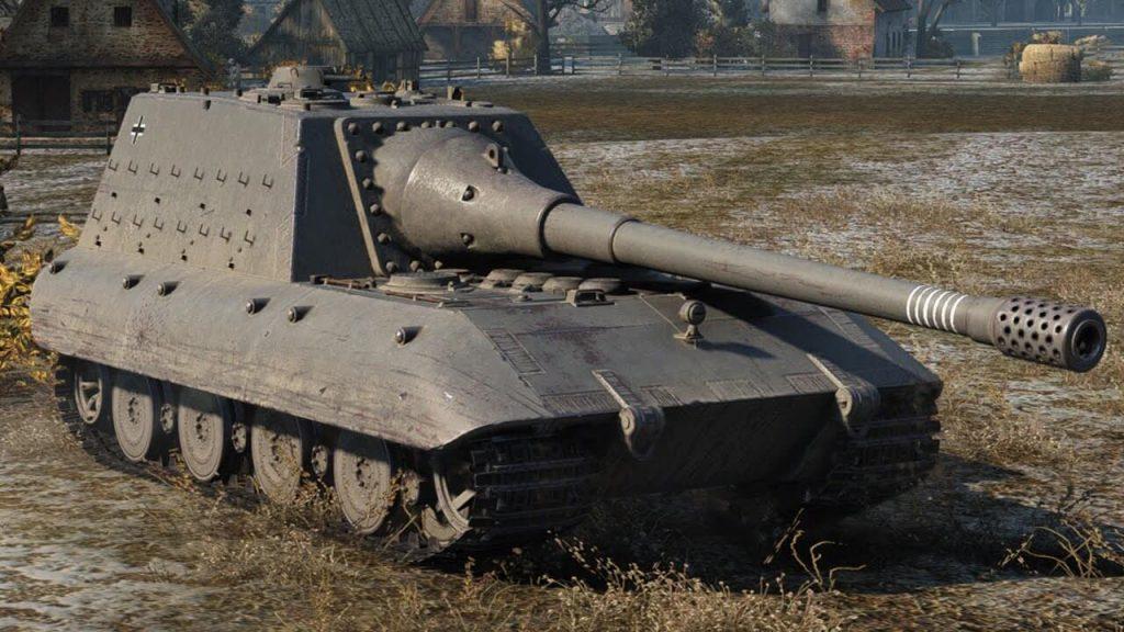Обзор немецкой пт Jagdpanzer E100