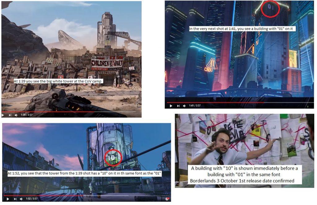 Поклонники Borderlands 3 считают, что они нашли дату релиза в трейлере