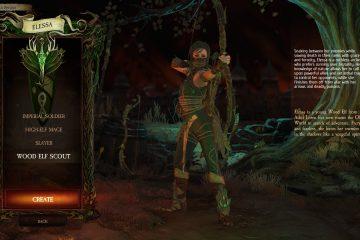 Посмотрите на лесного эльфа из Warhammer: Chaosbane