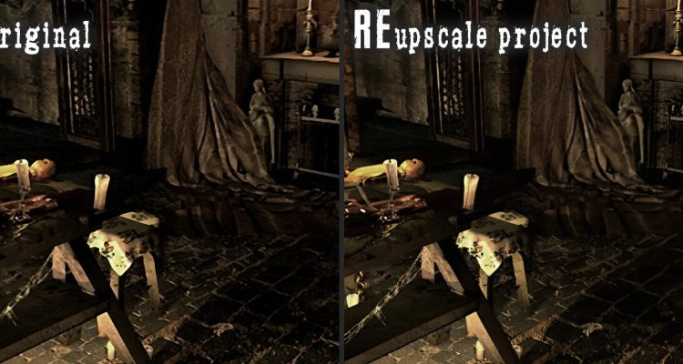 Resident Evil HD Remaster получает новый пак более 1600 текстур, улучшенных нейросетью