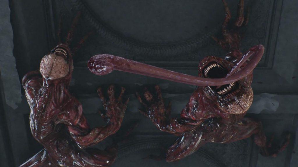 Лизуны – Resident Evil 2