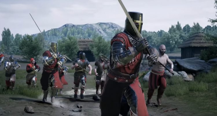 Средневековое мультиплеерное рубилово Mordhau выйдет уже в этом месяце