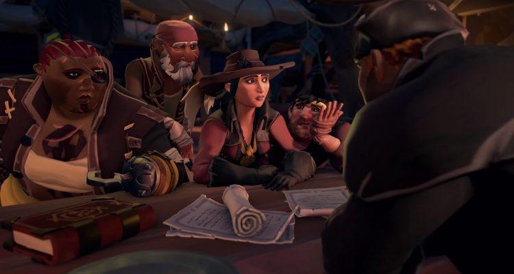 Трейлер Sea of Thieves показал сюжетные Золотые Берега