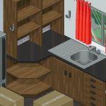 Unpacking — дзен-головоломка о дизайне интерьера
