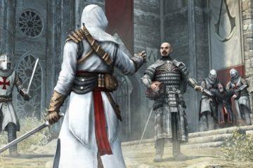 Альтаир и первого Assassin's Creed убивает почти 1000 человек