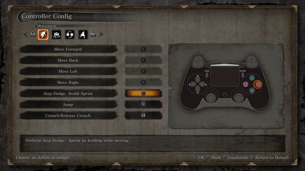 Включите подсказки для контроллеров PS4