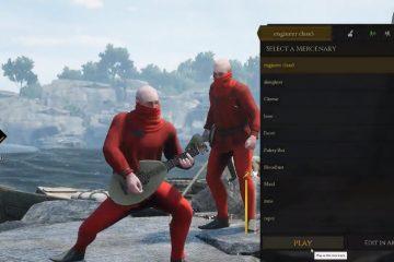 Игроки Mordhau выяснили, как проникнуть на экран выбора персонажа