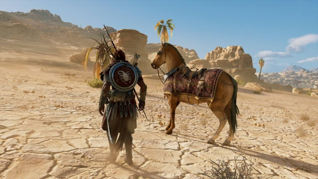 Assassin's Creed Origins – лошади