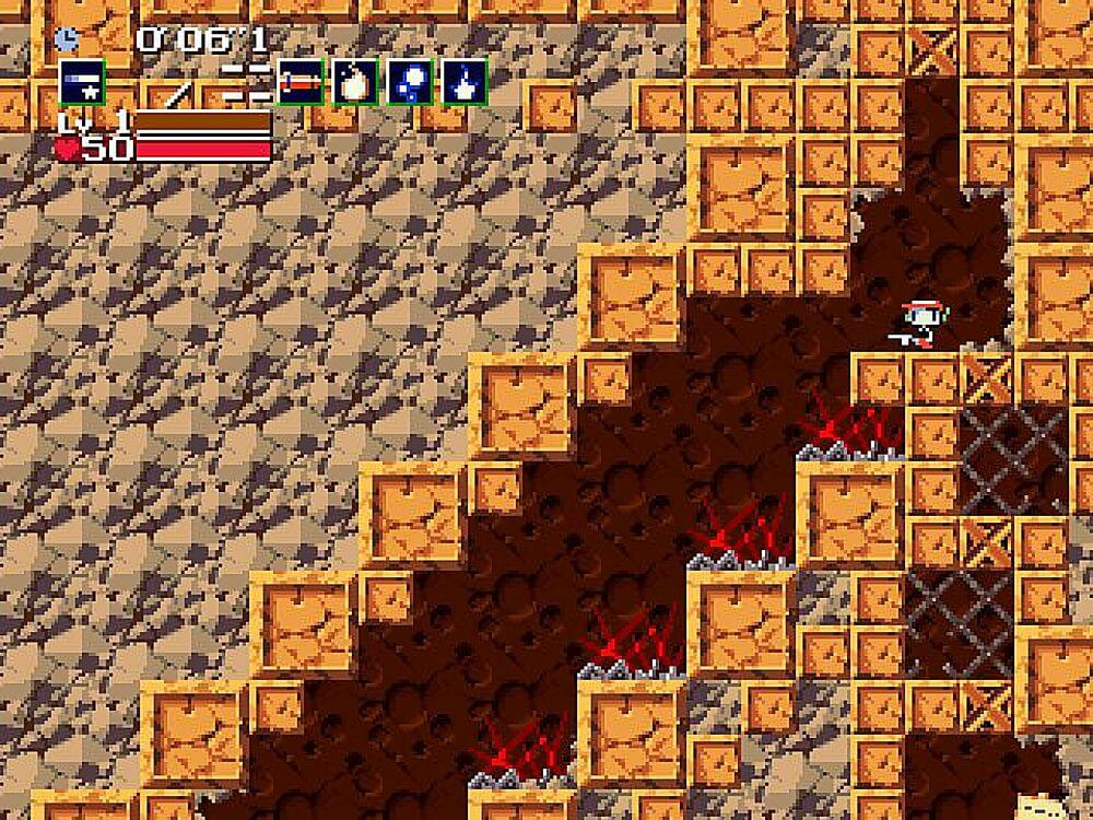 Blood Stained Sanctuary – Cave Story