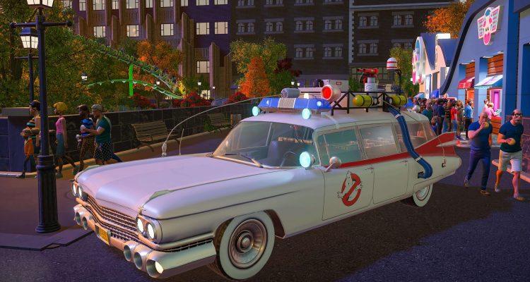 Planet Coaster: Ghostbusters DLC скоро появится в вашем парке
