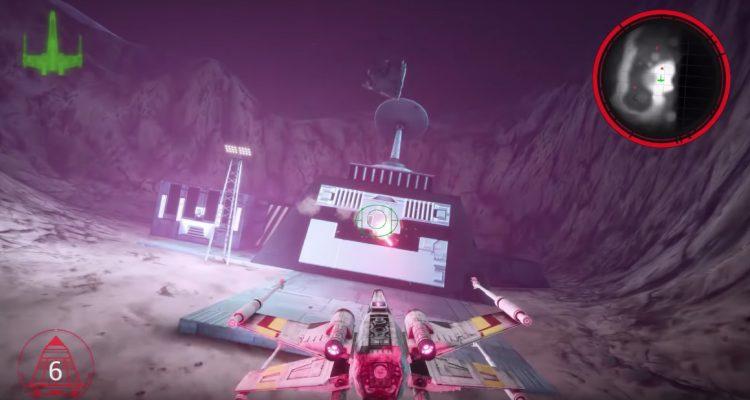 Ремейк Star Wars: Rogue Squadron HD на Unreal Engine 4 выглядит впечатляюще
