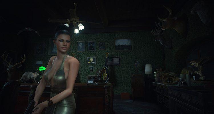 В моде для Resident Evil 2 Remake можно сыграть за Экселлу Джионне из Resident Evil 5
