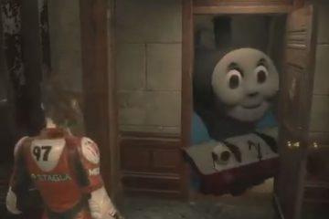 Мод для Resident Evil 2 превращает Мистера Икс в паровозика Томаса