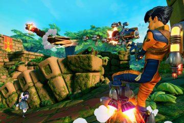 Rocket Arena - это бесплатная игра в жанре 3v3 FPS, где никто не умирает