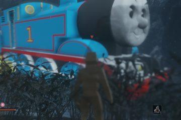 Паровозик Томас заменяет Великого змея в Sekiro