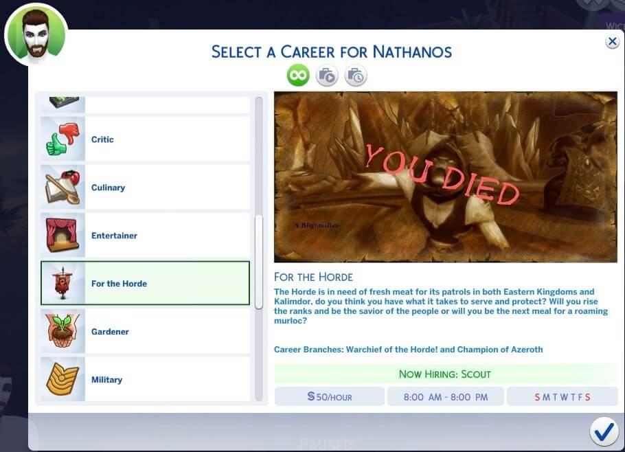 В The Sims 4 можно стать кем угодно, и даже вождём Орды
