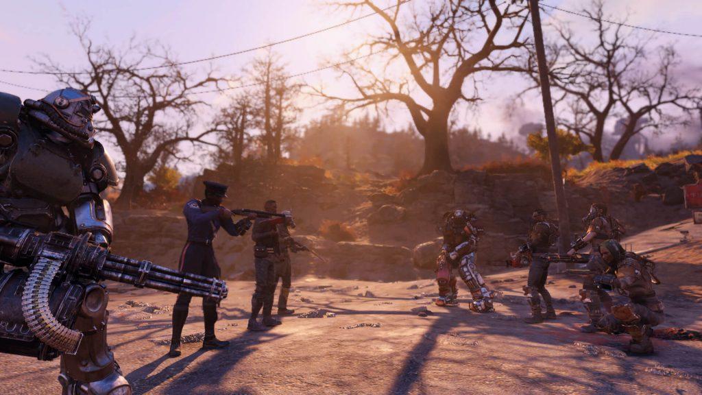 Всё - Fallout 76