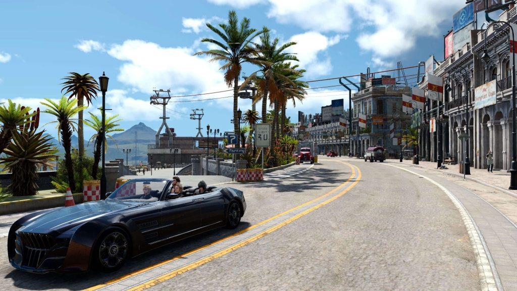 Поездки на автомобиле - Final Fantasy 15