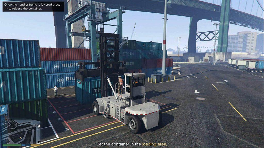 Разведка порта - Grand Theft Auto 5