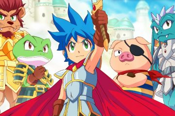 Вышла демо-версия Monster Boy and the Cursed Kingdom для ПК