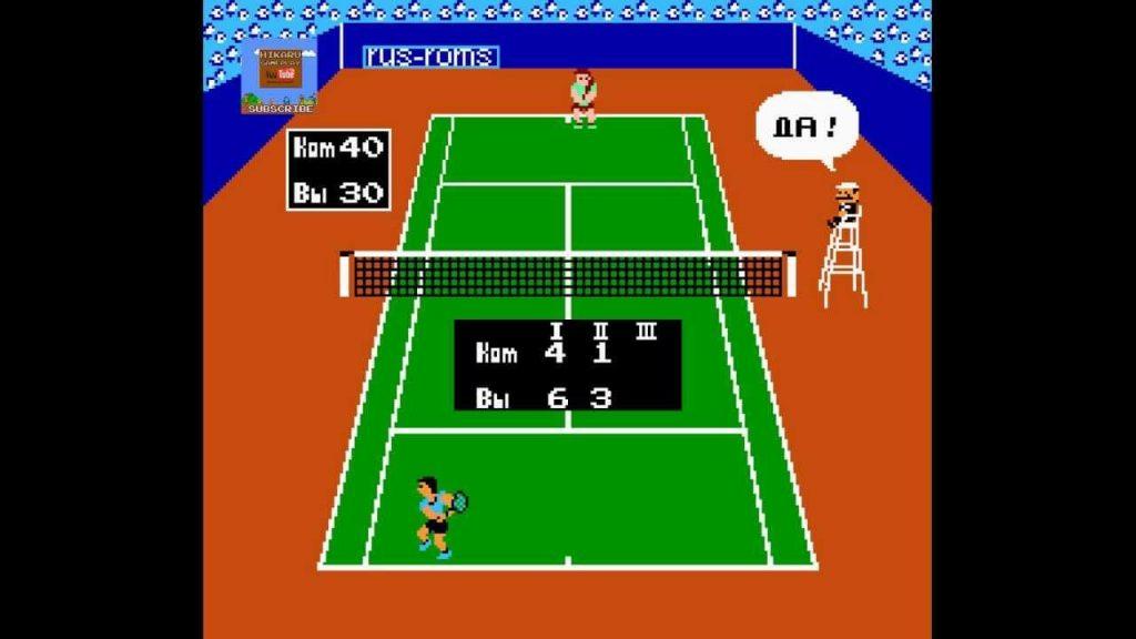 Рефери - Tennis (1984)