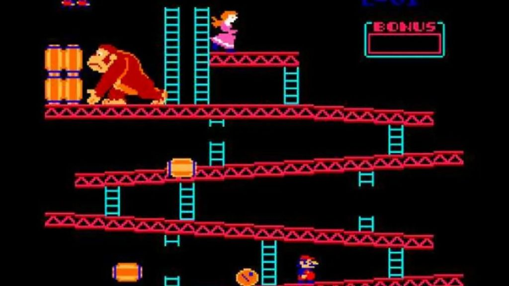 Столяр - Donkey Kong
