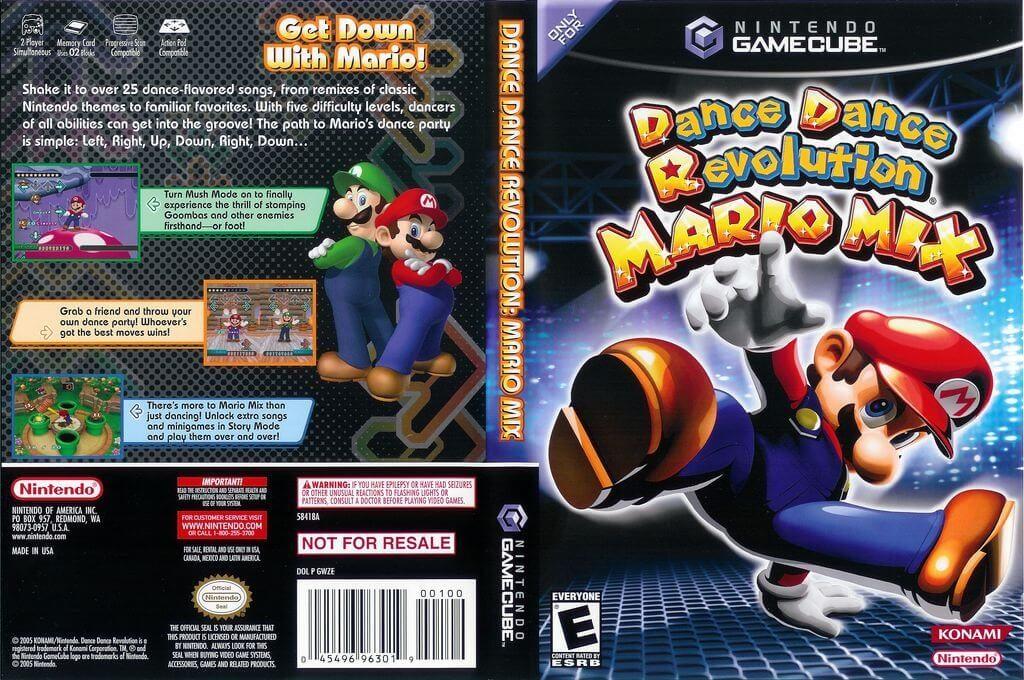 Уличный танцор - Dance Dance Revolution: Mario Mix