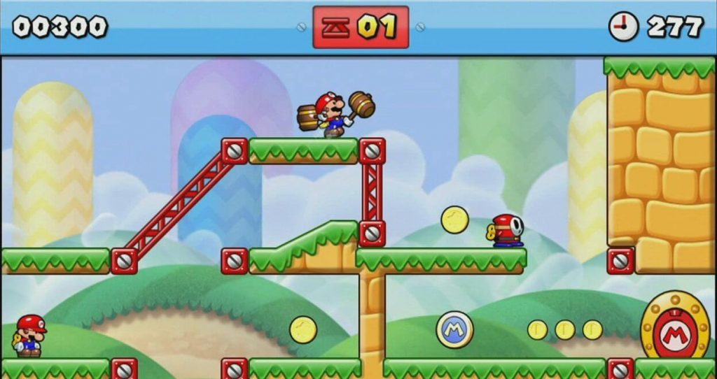Производитель игрушек - Mario vs. Donkey Kong