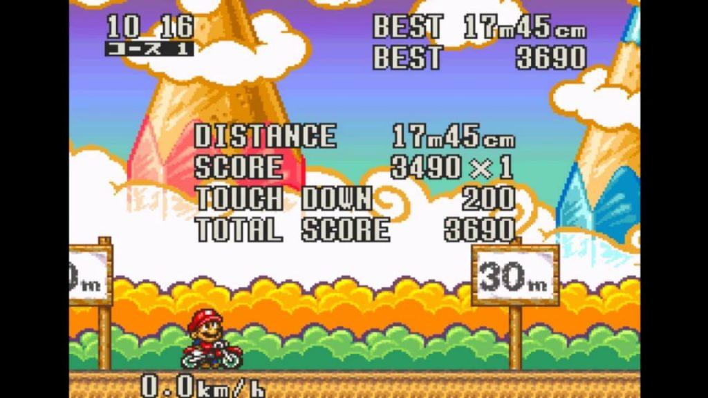 Велосипедист-трюкач - Excite Bike: Bun Bun Mario Battle Stadium