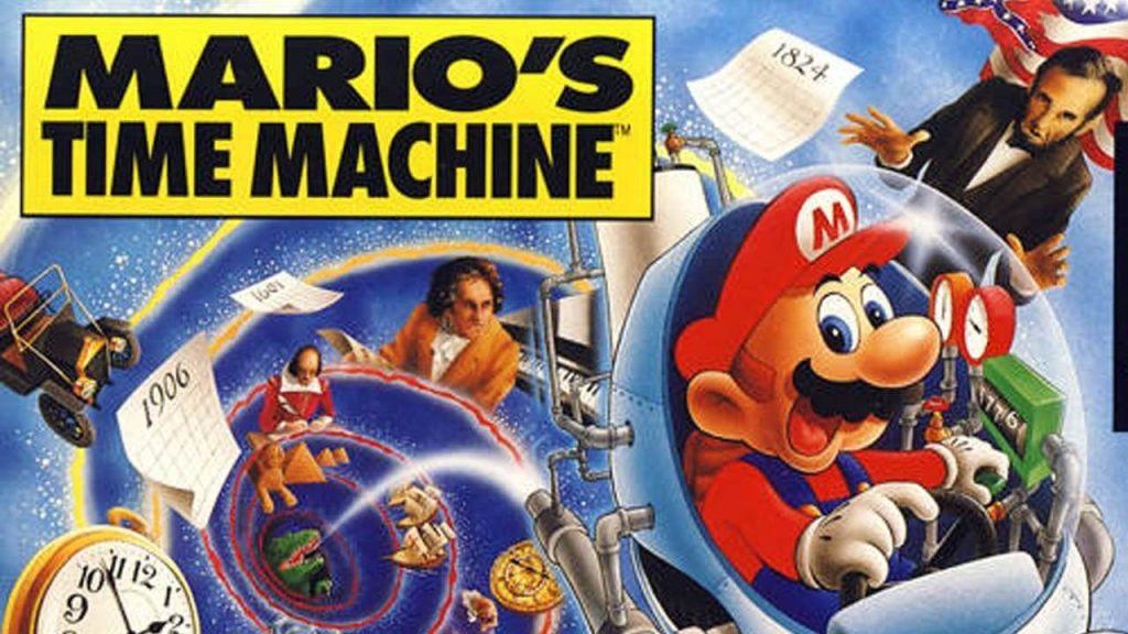 Путешественник во времени - Mario's Time Machine