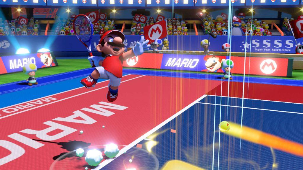 Теннисист - серия Mario Tennis