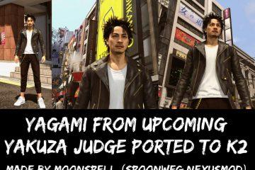 Теперь можно играть за Такаяки Ягами из Yakuza Judgment in Yakuza Kiwami 2