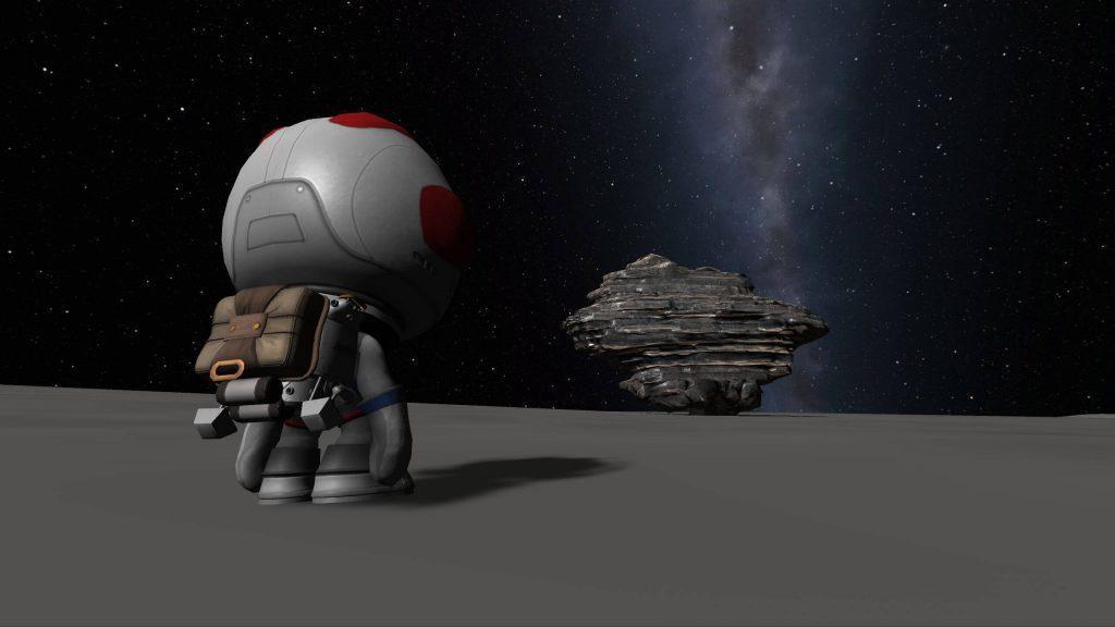 Загружаемое дополнение Breaking Ground для Kerbal Space Program добавляет роботов
