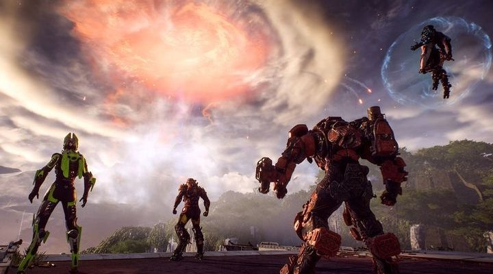 "Anthem - BioWare представили грандиозное событие ""Катаклизм"""