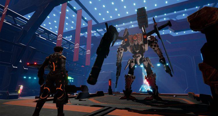 Daemon X Machina - новый трейлер и дата выхода