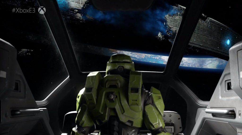 Никакого геймплея Halo Infinite
