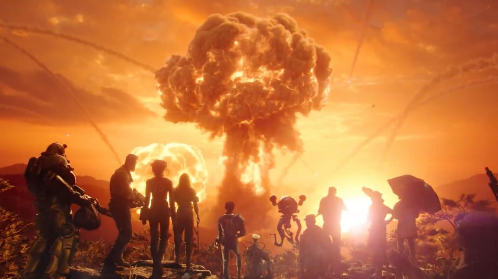 Fallout 76 Wastelanders и Nuclear Winter