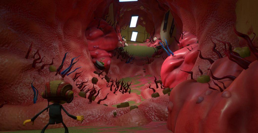 Геймплей Psychonauts 2 перенесет вас в стоматологический кошмар