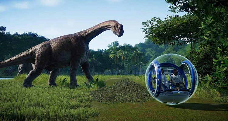 Jurassic World Evolution в июне получит DLC Claire's Sanctuary