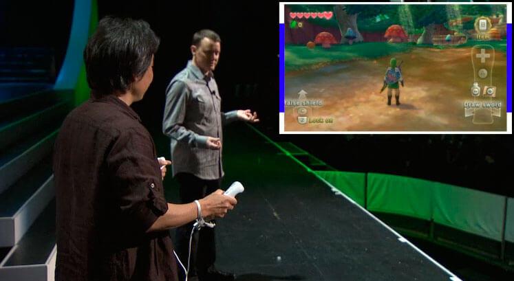 Показ геймплея Skyward Sword - E3 2010