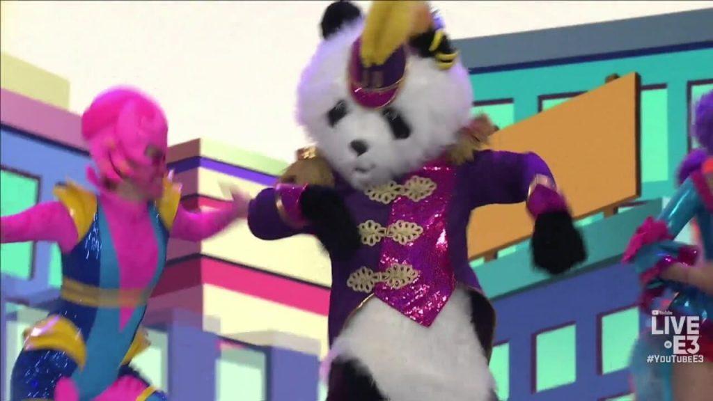 Танцующая панда Ubisoft - E3 2018